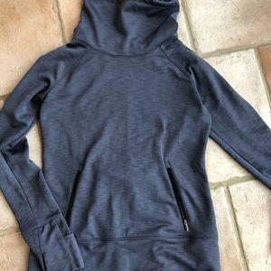 VSX tunic, fleece-lined active sweatshirt